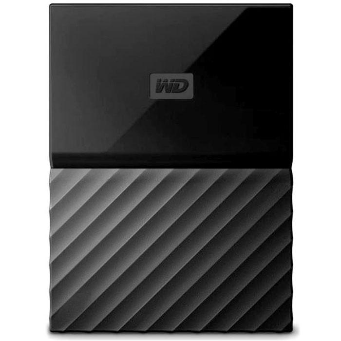 Внешний жесткий диск USB3.0 2.5″ 4Тб WD My Passport ( WDBUAX0040BBK-EEUE ) Черный