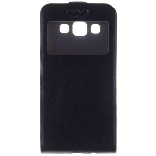 Чехол skinBOX Flip Slim AW для Samsung A300F Galaxy A3 черный