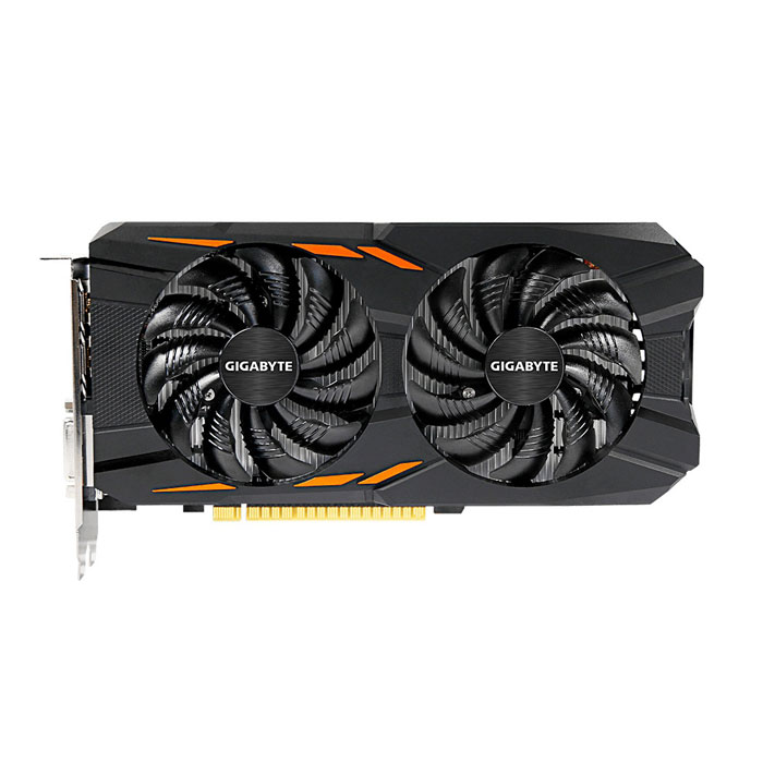 Видеокарта PCI-E GIGABYTE GeForce GTX 1050 2048Mb, DDR5 ( GV-N1050WF2-2GD ) Ret