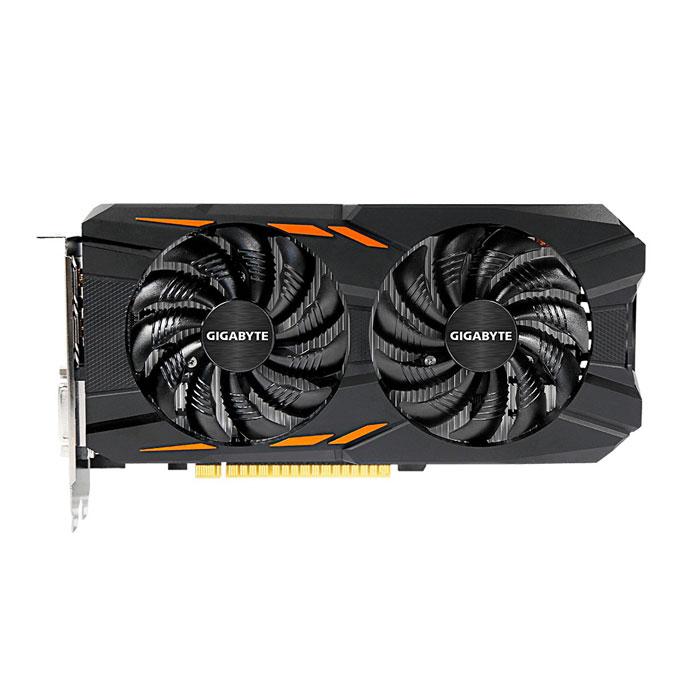 Видеокарта PCI-E GIGABYTE GeForce GTX 1050 2048Mb, DDR5 ( GV-N1050WF2-2GD ) Ret