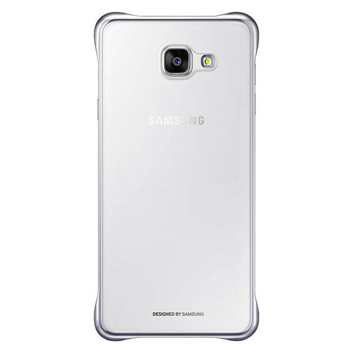 Чехол Samsung Clear Cover для Galaxy A5 (2016) SM-A510F, серебристый