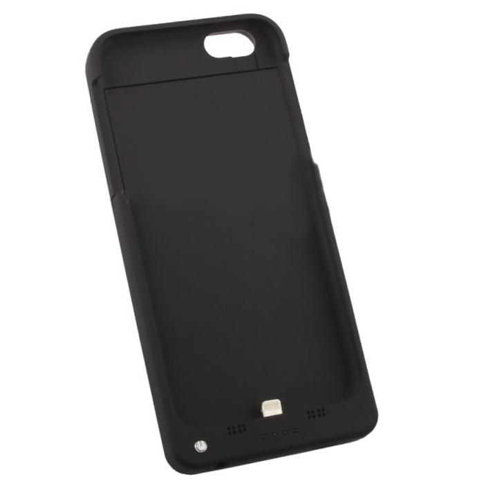 Чехол со встроенной батареей 4000mAh для iPhone 6 / iPhone 6S Liberty черный