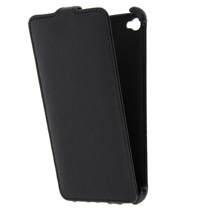 Чехол Gecko Flip-case для Lenovo Sisley S90 черный