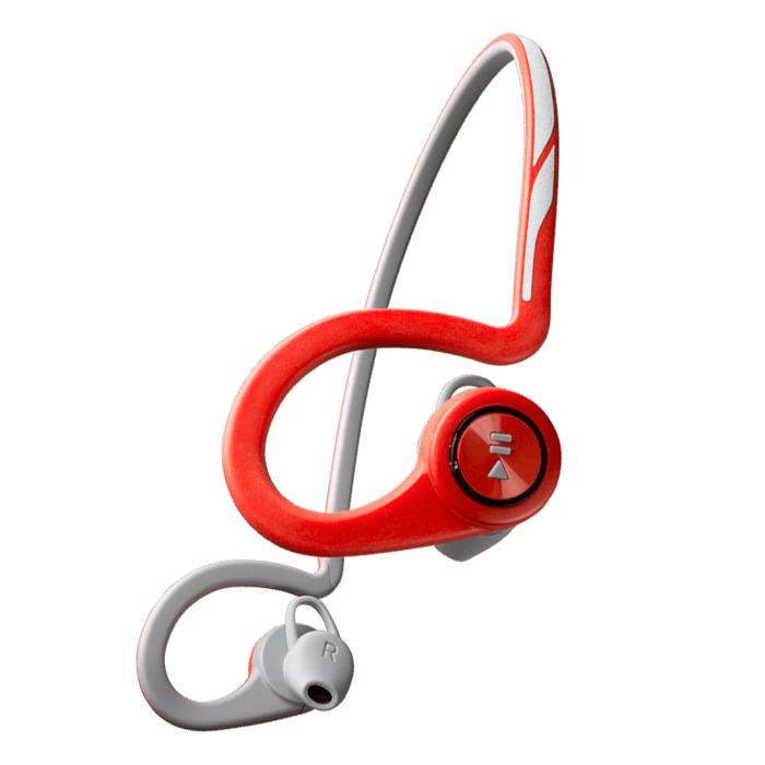 Гарнитура Plantronics Backbeat FIT, красный с белым