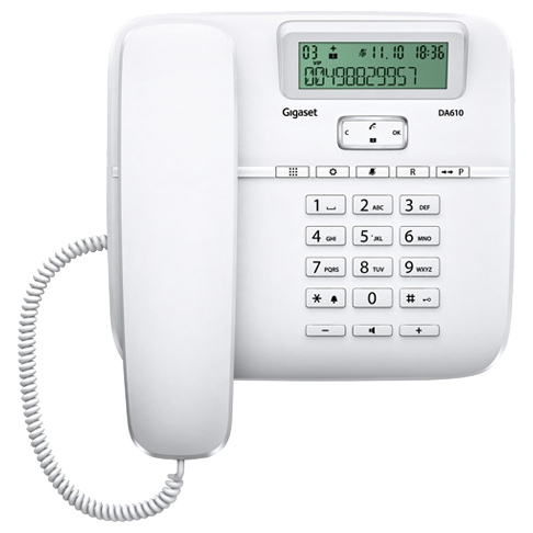 Телефон Siemens Gigaset DA 610 white