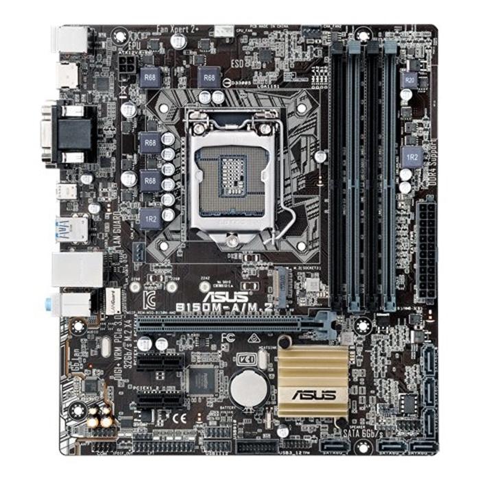 Материнская плата ASUS B150 LGA1151 DDR4 ( B150M-A/M.2 ) mATX, Ret