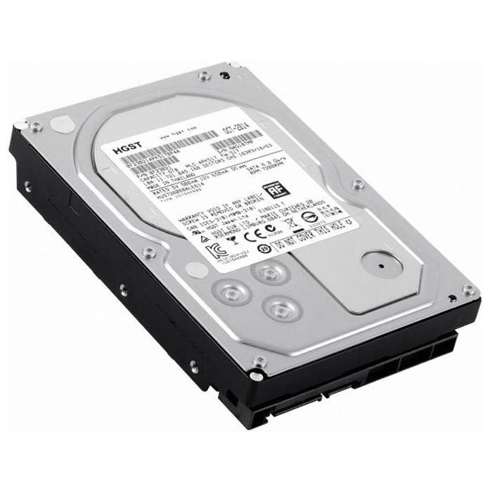 Жесткий диск 3.5″ 6000Gb Hitachi (HUS726060ALE614_0F23021) 128Mb 7200rpm SATA3 Ultrastar 7K6000