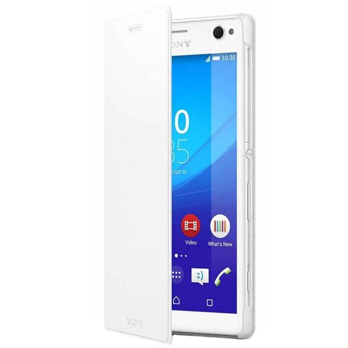 Чехол Sony Flipcase SCR48 для Sony E5303/E5333 Xperia C4, белый