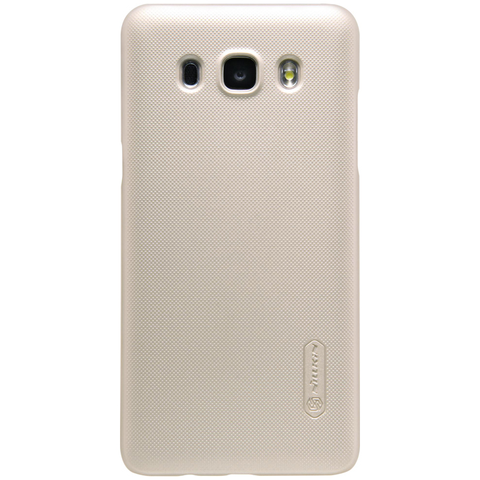 Чехол Nillkin Super frosted shield case для Samsung Galaxy J5 (2016) SM-J510FN, золотистый