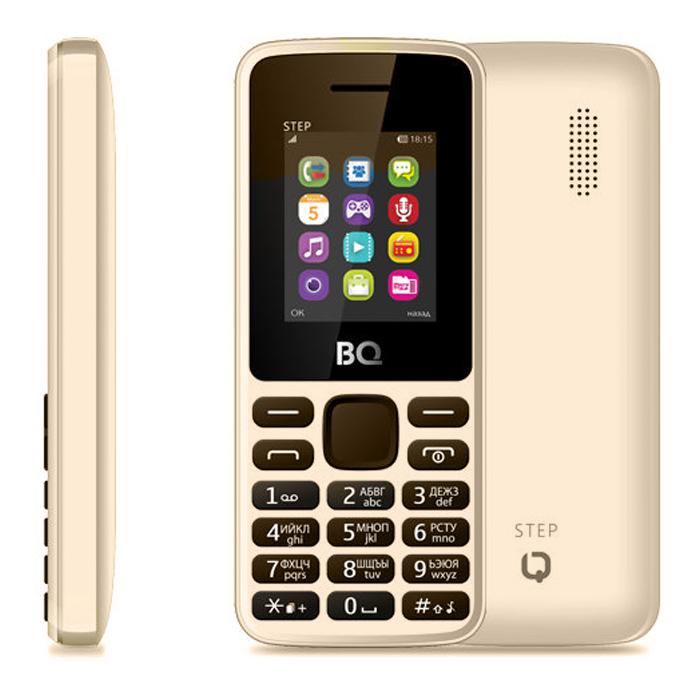 Сотовый телефон BQ Mobile BQM-1830 Step Coffee