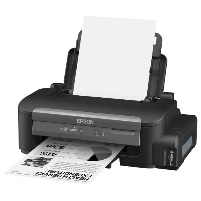 Принтер Epson M105 струйный ч/б с Снпч