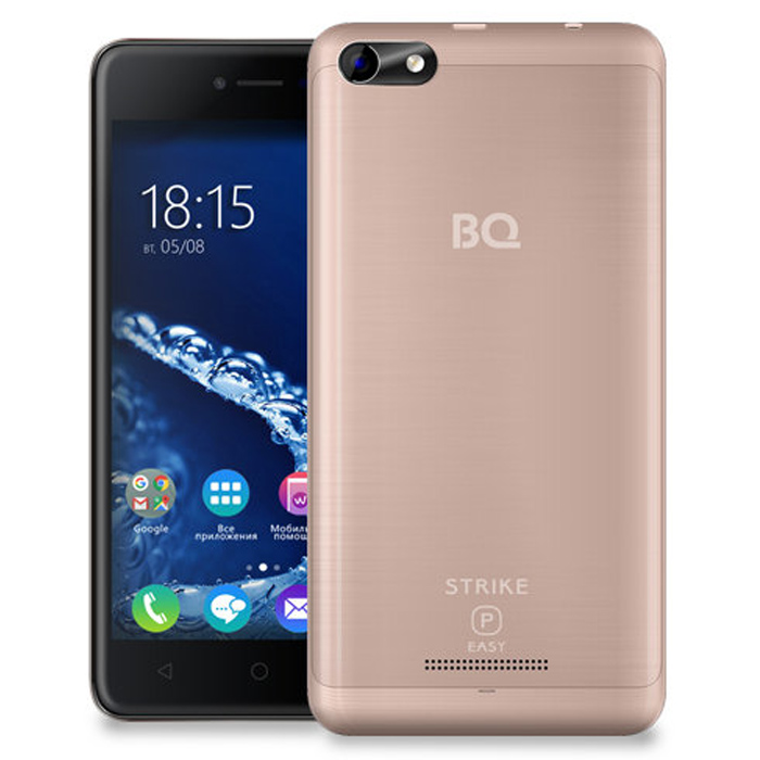 Смартфон BQ Mobile BQ-5058 Strike Power Easy Rose Gold Matt