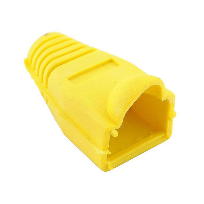 Колпачок изолирующий RJ-45 Yellow <> .