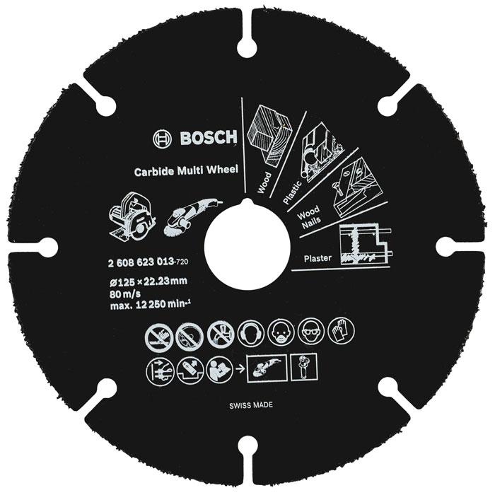 Отрезной круг по дереву Bosch 125мм 2608623013