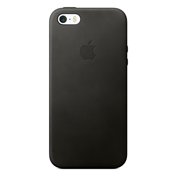 Чехол для iPhone 5s / iPhone SE Apple Case MMHH2ZM/A Black
