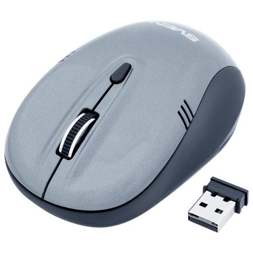 Мышь SVEN RX-330 Gray беспроводная