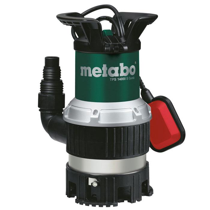 Дренажный насос для грязной воды Metabo TPS 14000 S Combi