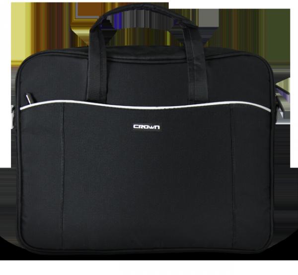 Сумка для ноутбука 15.6″ Crown CMB-554, нейлоновая, черная