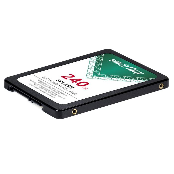 Накопитель 2.5″ SSD SATA3 240Гб Smartbuy Splash ( SB240GB-SPLH-25SAT3 )