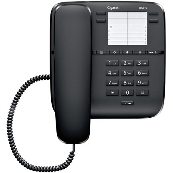 Телефон Siemens Gigaset DA 310 black