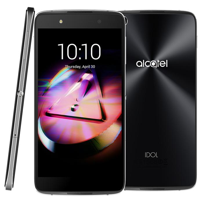 Смартфон Alcatel One Touch Idol 4 6055K Dark Gray
