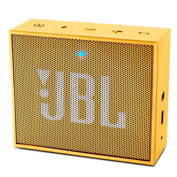 Акустическая система JBL Go, желтая