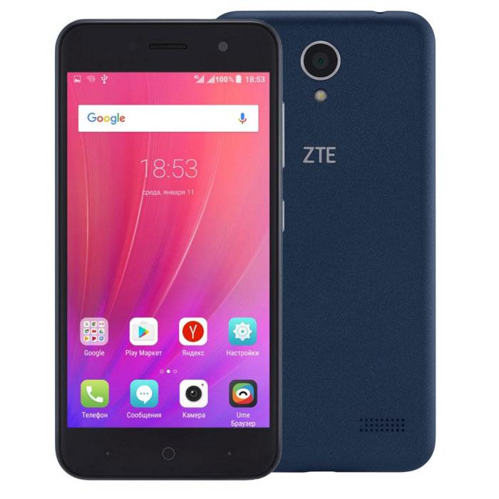 Смартфон ZTE Blade A520 Blue
