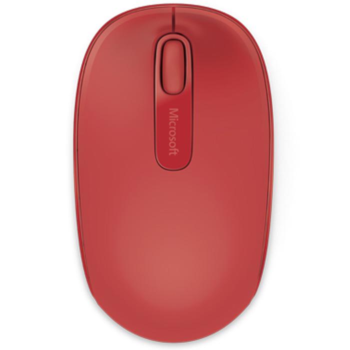 Мышь Microsoft Mobile Mouse 1850 USB Flame Red ( U7Z-00034 ) оптическая, беспроводная