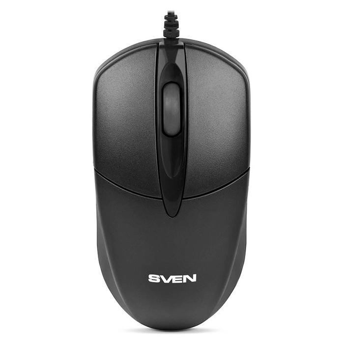 Мышь SVEN RX-112 PS/2 оптическая, проводная