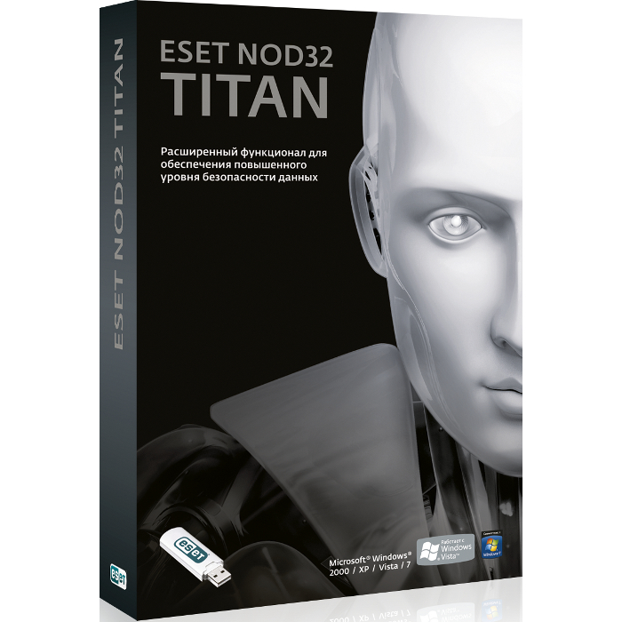 Антивирус Eset Software Nod32 Titan — лицензия на 1 ПК (базовый ESET Nod32 Smart Security — лицензия на 1 год на 3ПК) ( Nod32-EST-NS(BOX)-1-1 )