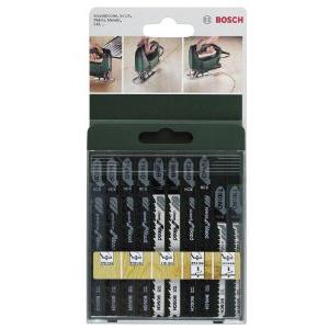 Набор пилок по дереву Bosch 10шт 2609256744