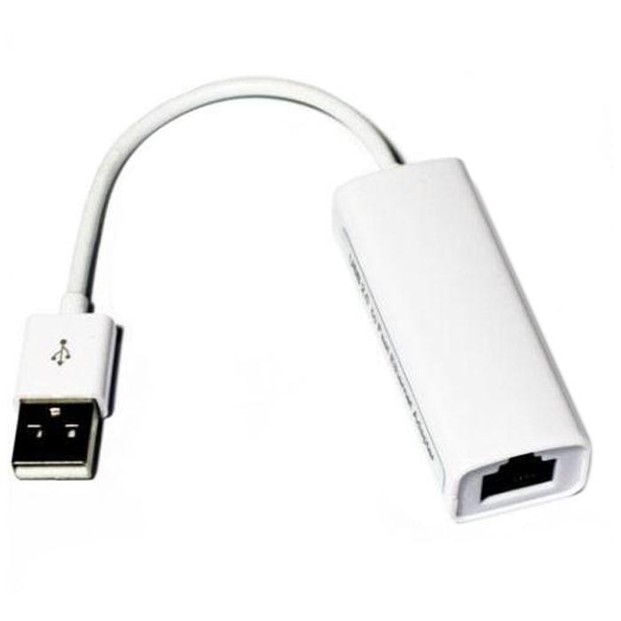 Переходник USB — RJ-45 KS-is ( KS-270 ) Белый