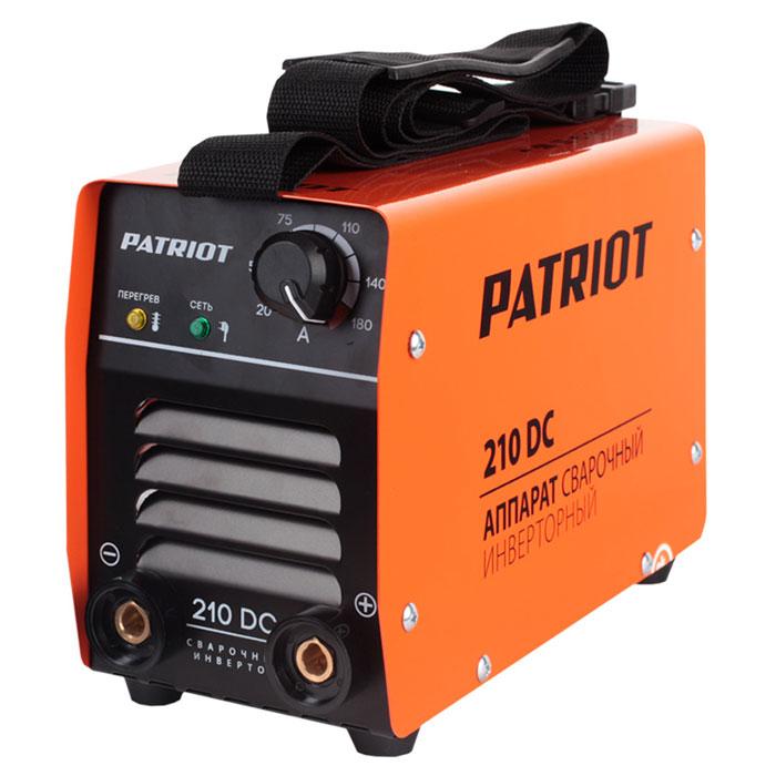 Инвертор сварочный PATRIOT 210 DC