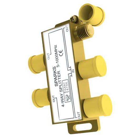 TV сплиттер Sparks ( SG1176 ) тип F — 4 тип F