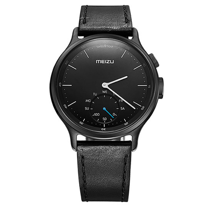 Умные часы Meizu Mix R20 Smart Watch Leather, Black