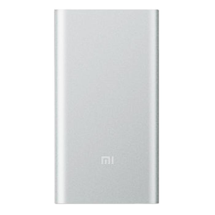 Внешний аккумулятор универсальный Xiaomi Mi Power Bank 2 10000 mAh, серебристый