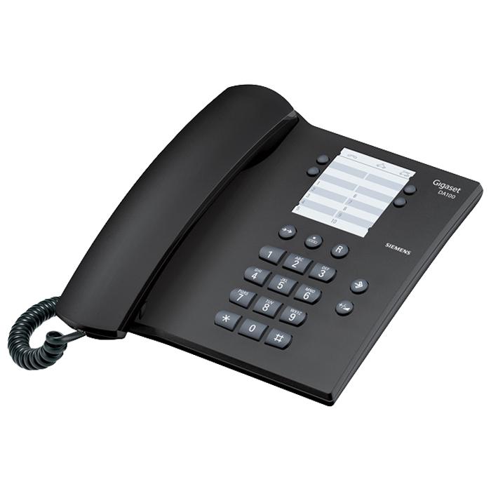 Телефон Siemens Gigaset DA 100 black