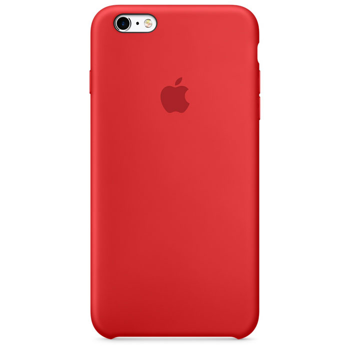 Чехол для Apple iPhone 6 Plus/ iPhone 6s Plus Silicone Case Red MKXM2ZM/A