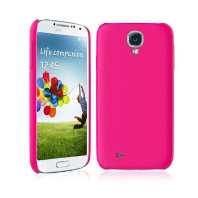 Чехол для Samsung Galaxy S IV i9500/i9505 Deppa Air Case и защитная пленка розовый