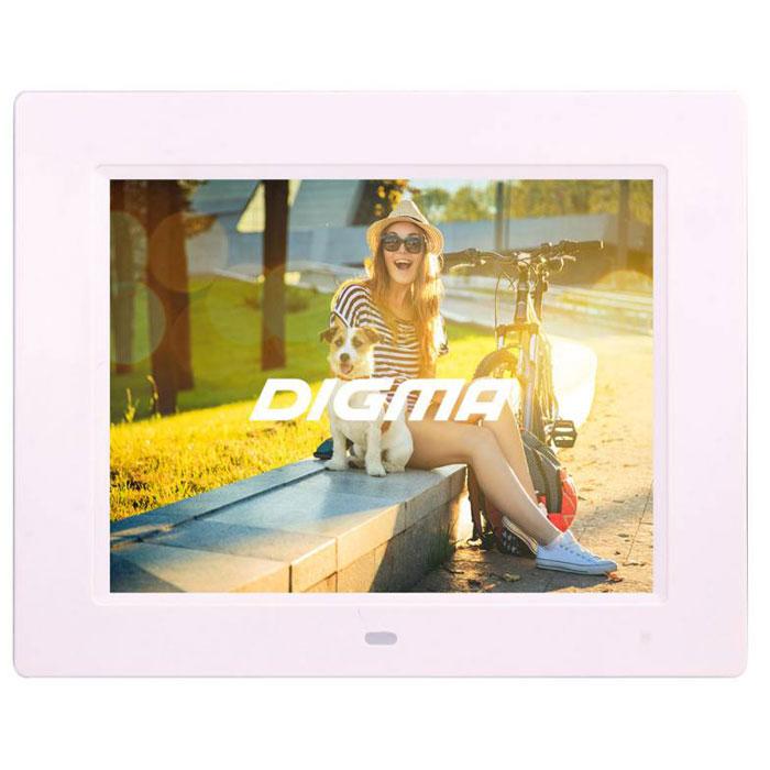 Фоторамка 8″ Digma ( PF-833 ) White
