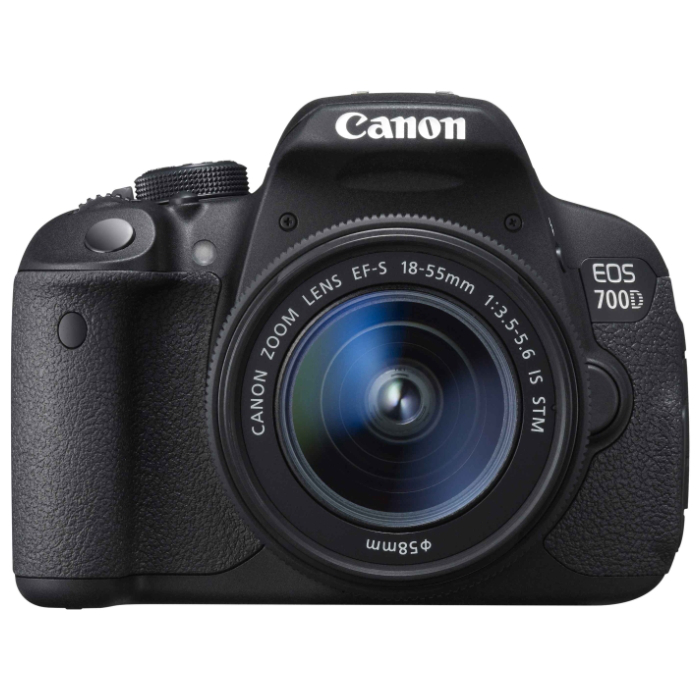 Зеркальный фотоаппарат Canon EOS 700D Kit 18-55 IS STM