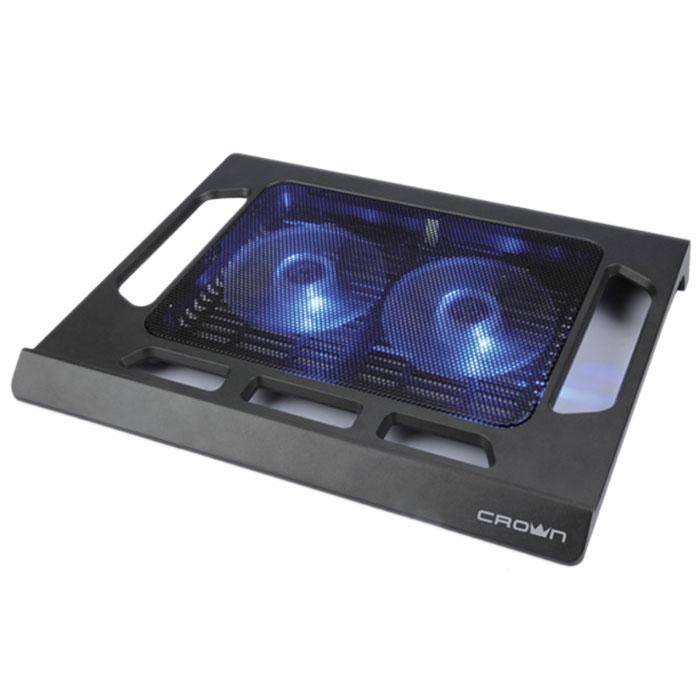 Система охлаждения ноутбука Crown ( CMLS-937 ) черная