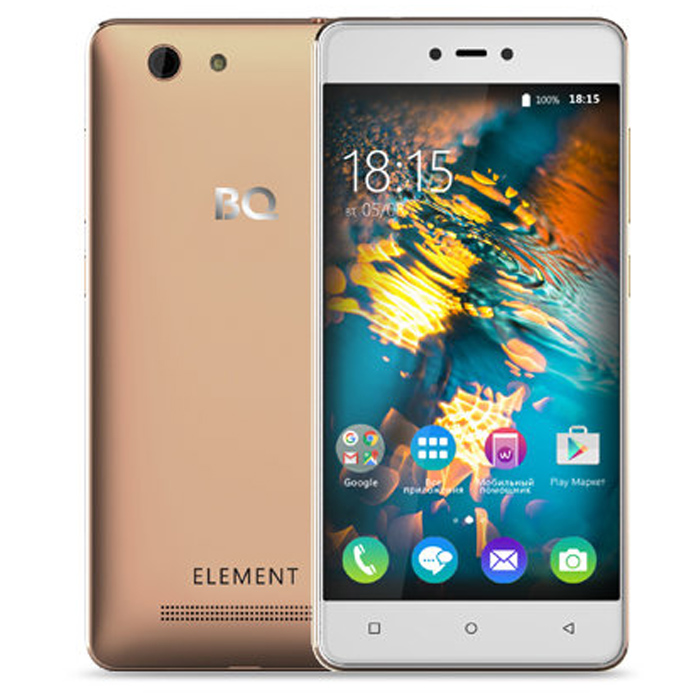 Смартфон BQ Mobile BQ-5032 Element Gold
