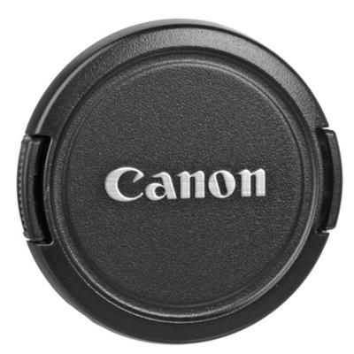 Крышка для объективов Fujimi с надписью Canon 58мм (как оригинал)