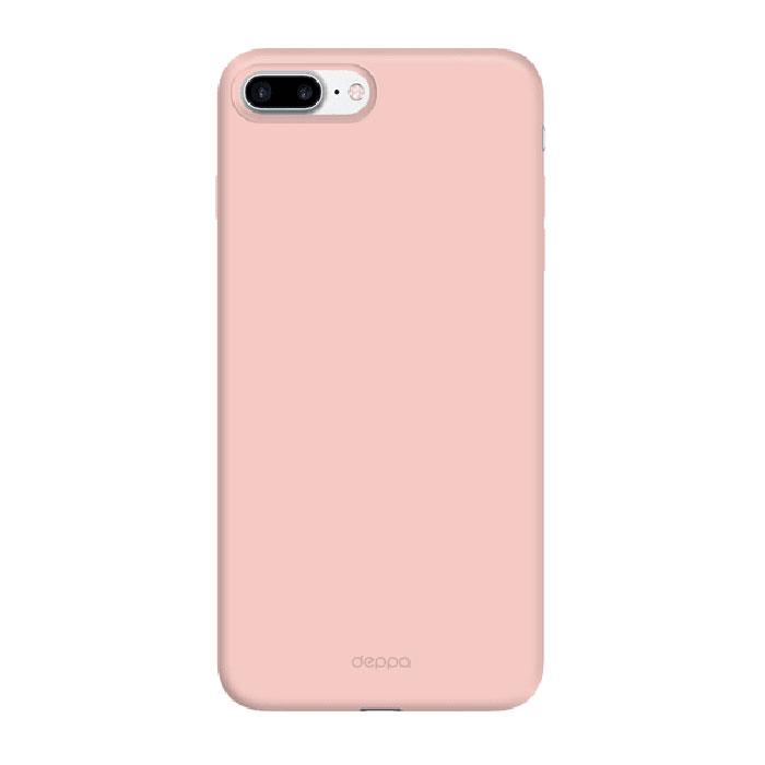 Чехол Deppa Air Case с пленкой для iPhone 7 Plus розово-золотистый
