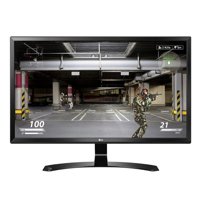 Монитор ЖК LG 27UD58-P 27″ black HDMI DisplayPort