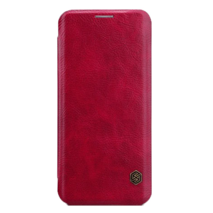 Чехол Nillkin Qin leather case для Samsung Galaxy S8+ SM-G955, красный