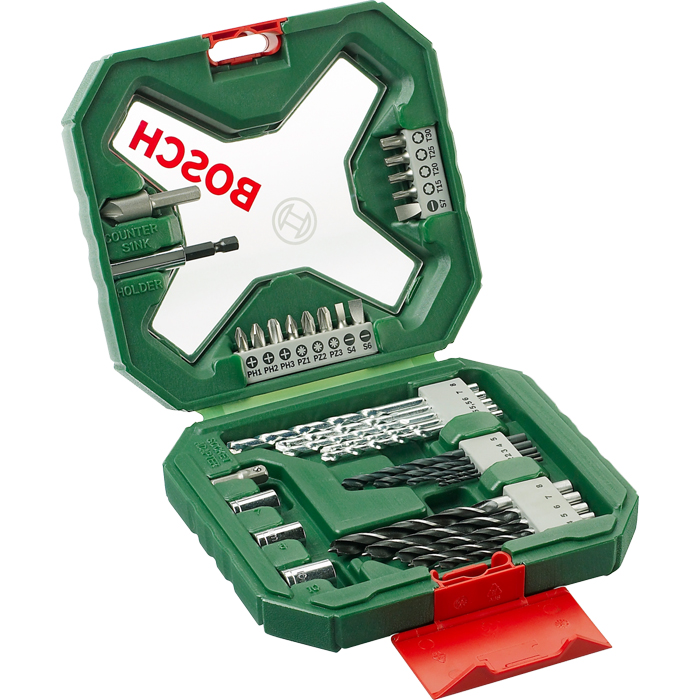 Набор принадлежностей Bosch X-Line 34 2607010608