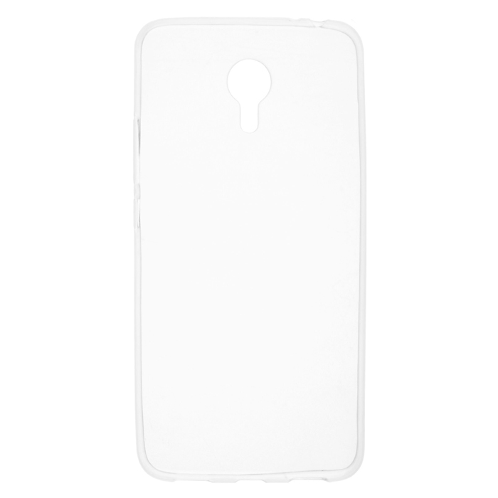 Чехол SkinBox 4People slim silicone для Meizu M3 Note, прозрачный
