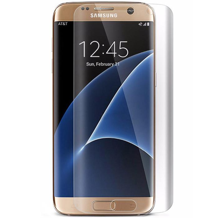 Защитное стекло Onext для Samsung G935F Galaxy S7 edge, На весь экран, прозрачная рамка
